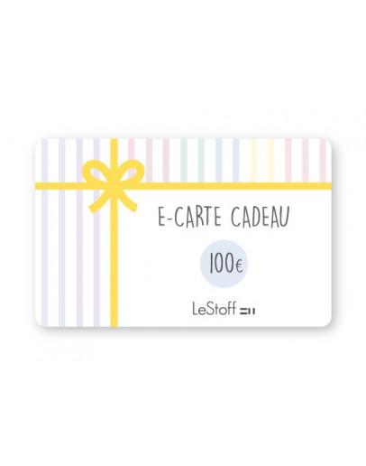 E-Carte Cadeau 100 €